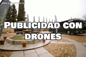 Publicidad con drones