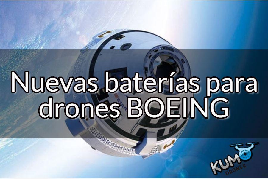 boeing nuevas baterias para drones